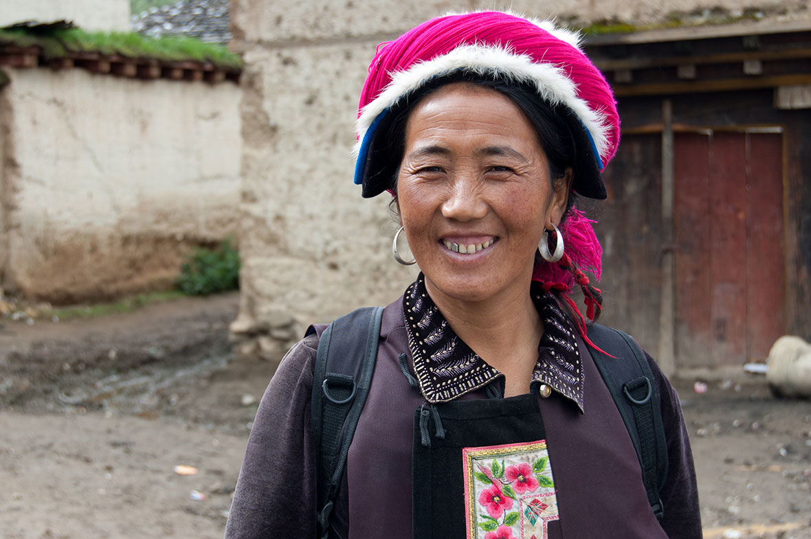 Having dinner with a Tibetan family in their home was a big highlight of the trip.