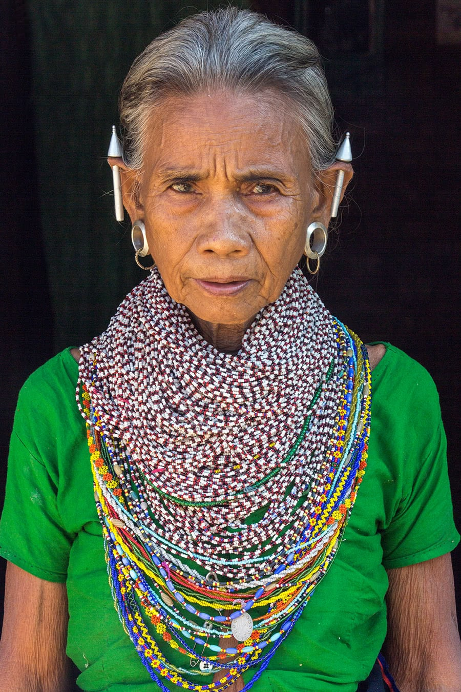 A Tripura tribal woman in Bandarban, in the Chittagong Hill Tracts of Bangladesh.