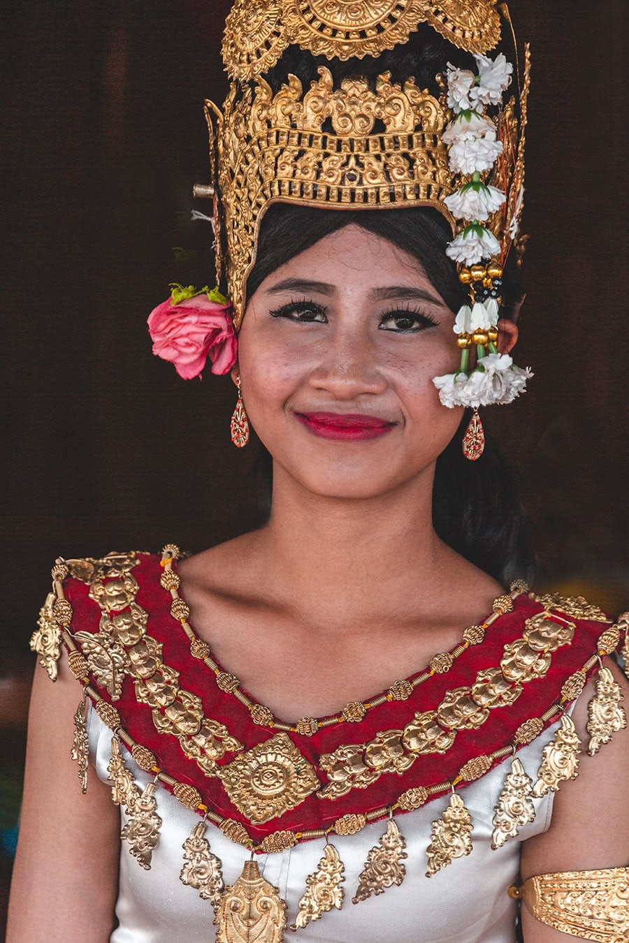 Apsara dancer in Siem Reap, Cambodia.