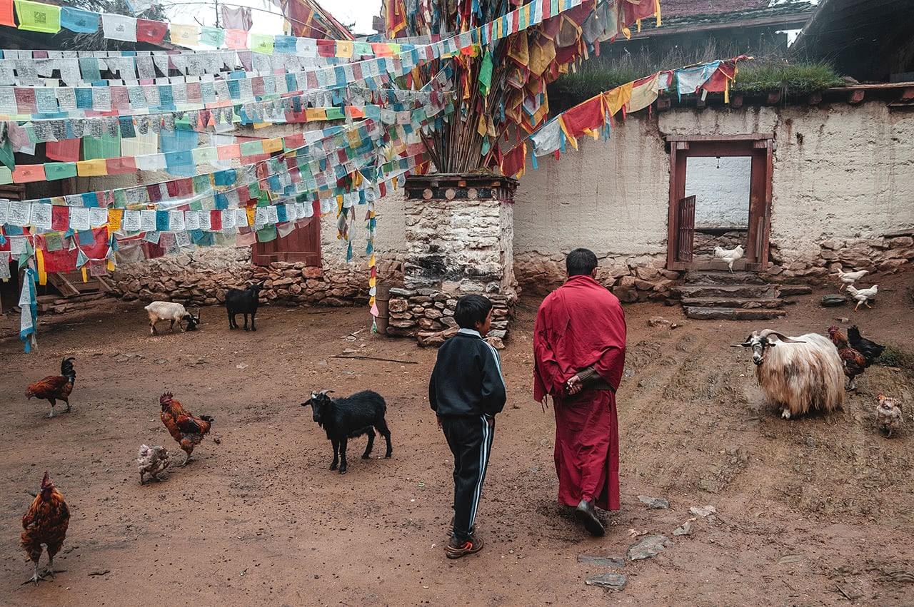 Ringha Monastery, in Zhongdian, China.