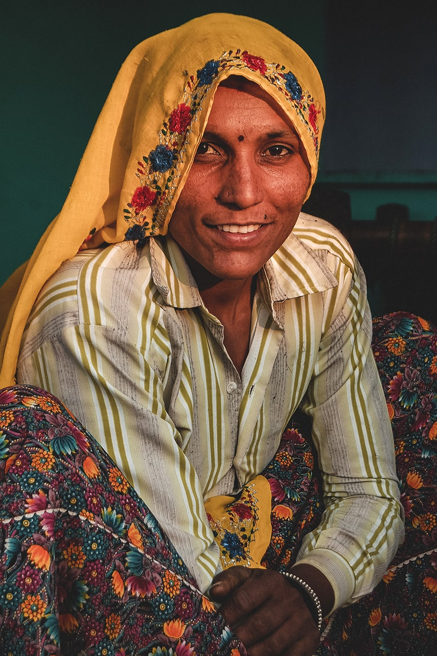 Woman from the Meena tribe, near Alwar in Rajasthan