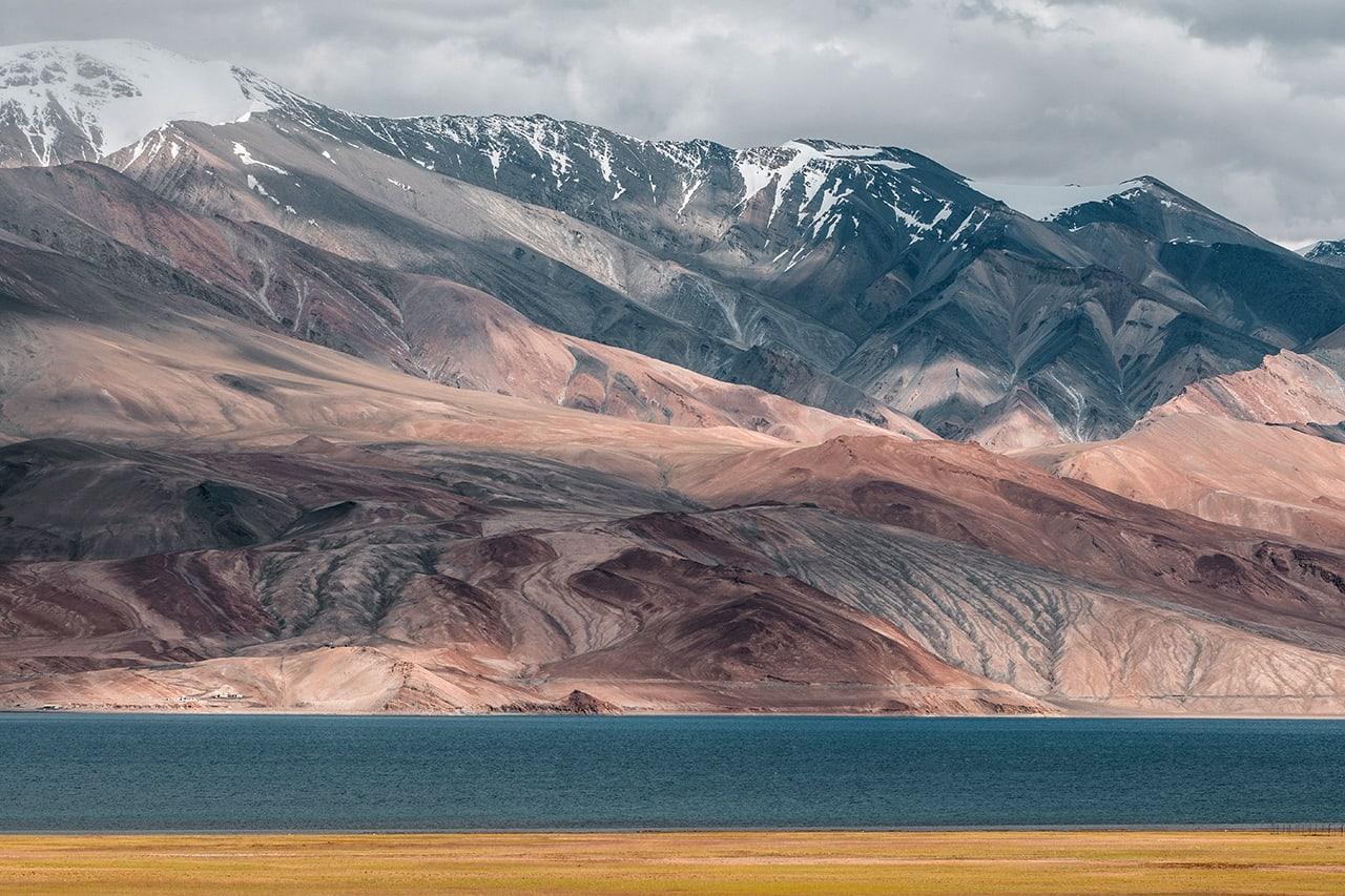 Tso Moriri lake in Ladakh, sitting at an altitude of 4,522m