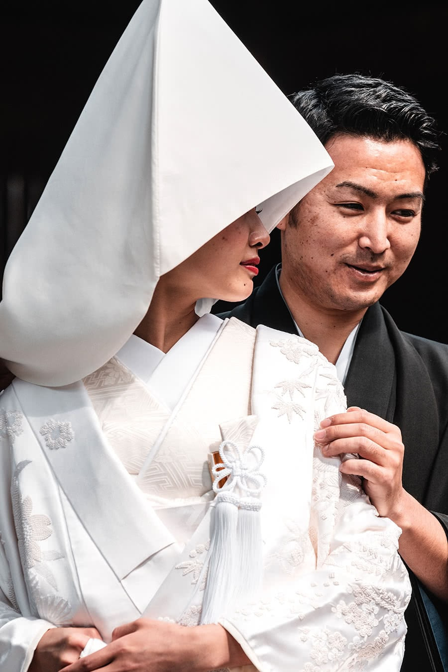 Shinto wedding in Tokyo, Japan.