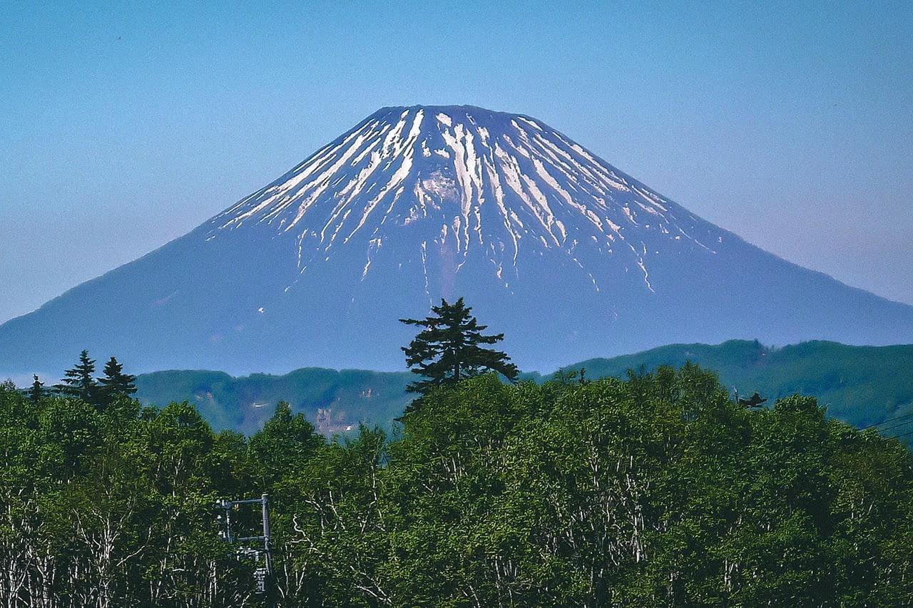 View of Mt. Yotei in Niseko, Hokkaido, Japan.