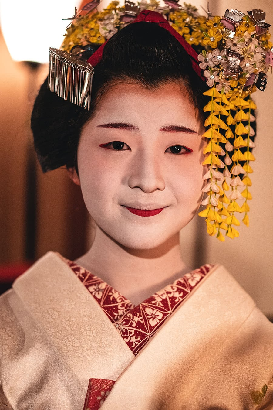 A Maiko (Geisha in training) in Kyoto, Japan.