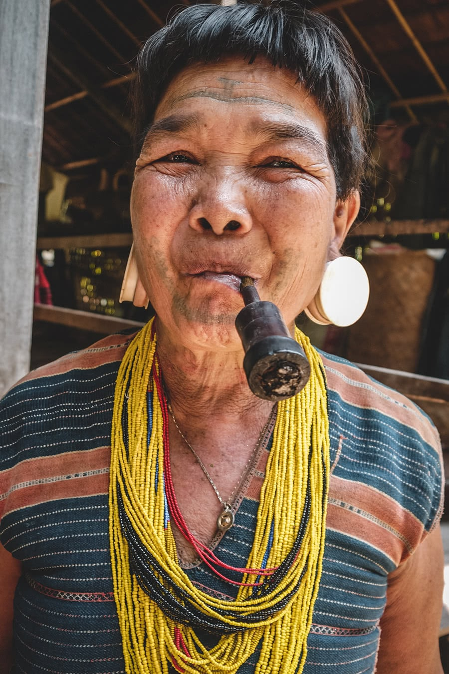 A woman from the Brao minority in Attapeu, southern Laos.