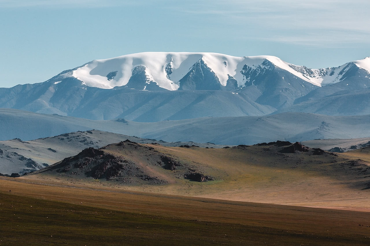 Tsambagarav Uul – a beautiful mountain on the border of Bayan-Olgii and Khovd provinces of Mongolia.