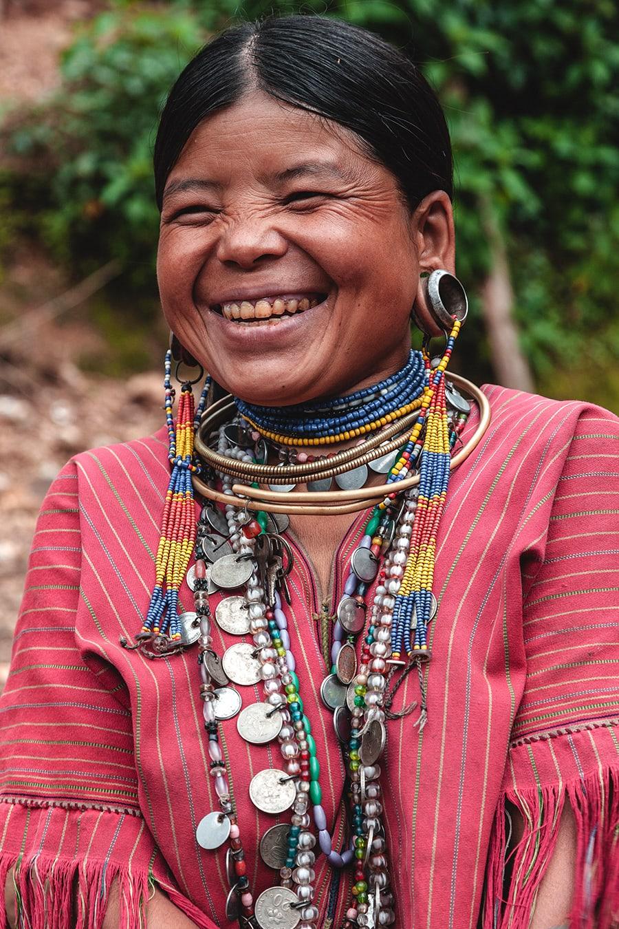 A Kayaw woman near Loikaw, Myanmar.