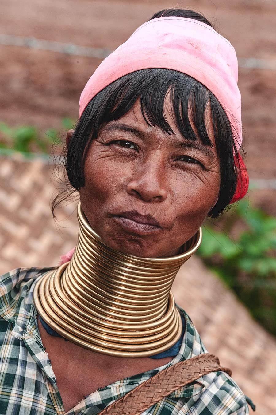 Kayan Longneck woman from Panpet village, Kayah State, Myanmar