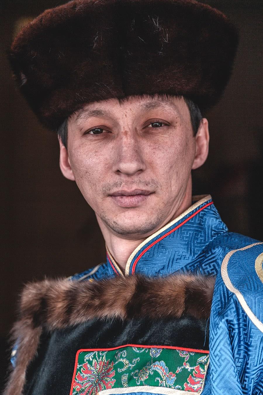 Buryat throat singer.
