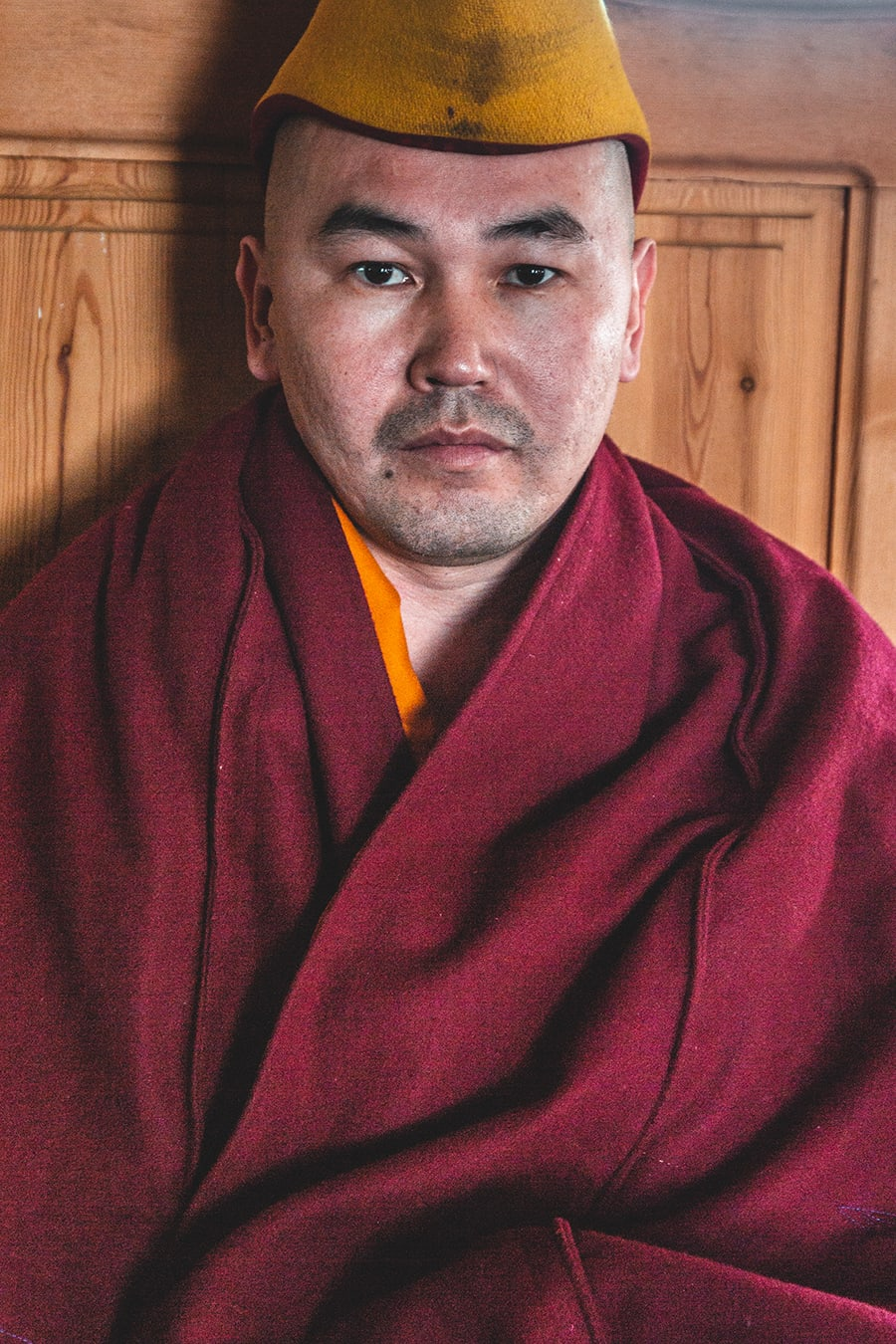 Senior buddhist monk in Buryatia Republic, Russia.