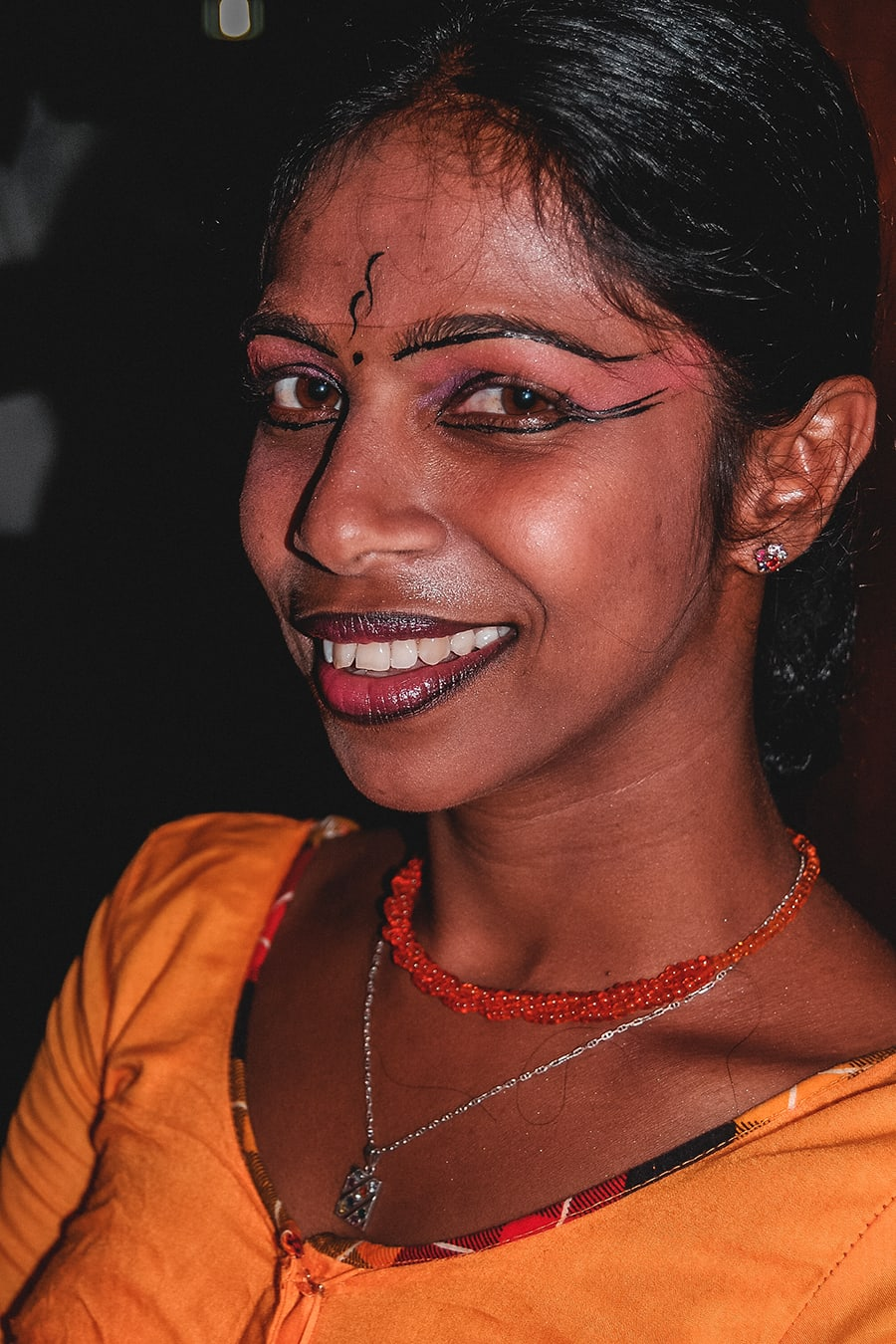 Dance performer in Kandy, Sri Lanka.