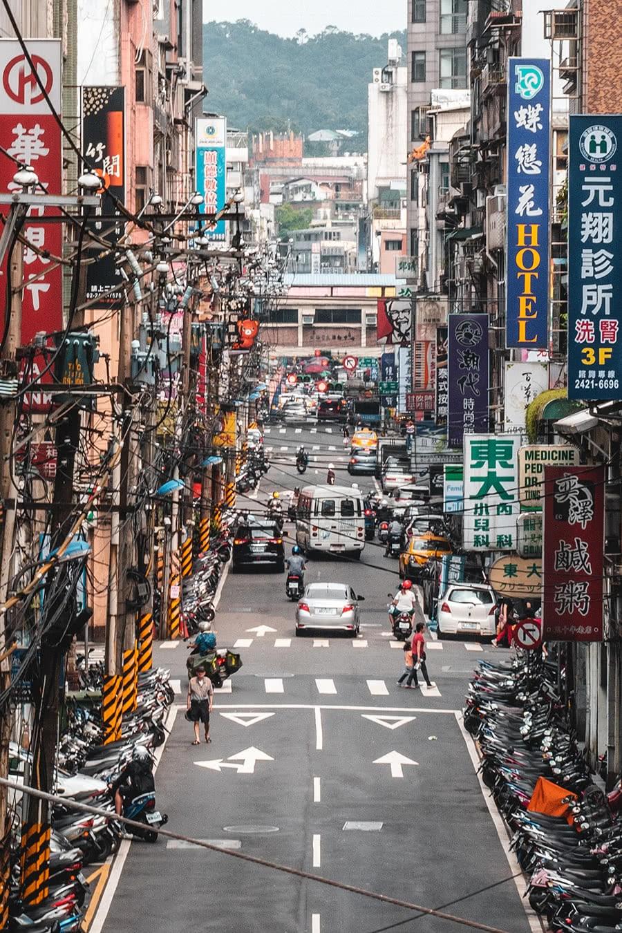 Keelung City, northern Taiwan.