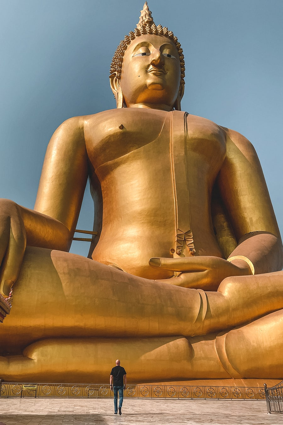 The Big Buddha of Ang Thong, the tallest statue in Thailand.