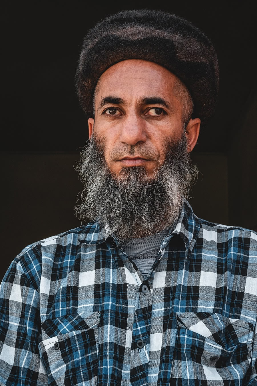 A man from the Zoroastrian village of Nokhur in Turkmenistan.