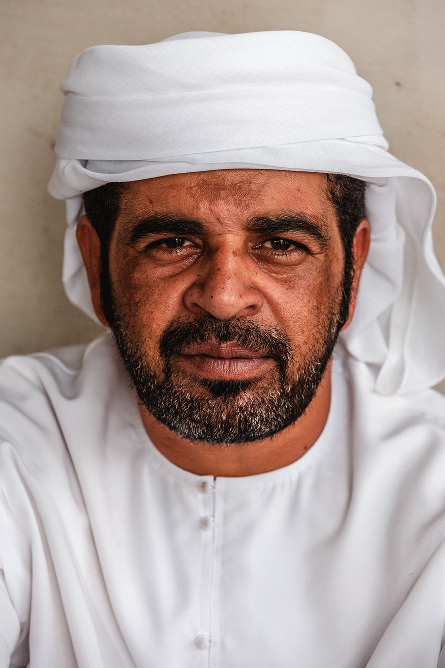 An Emirati man in Sharjah, UAE.
