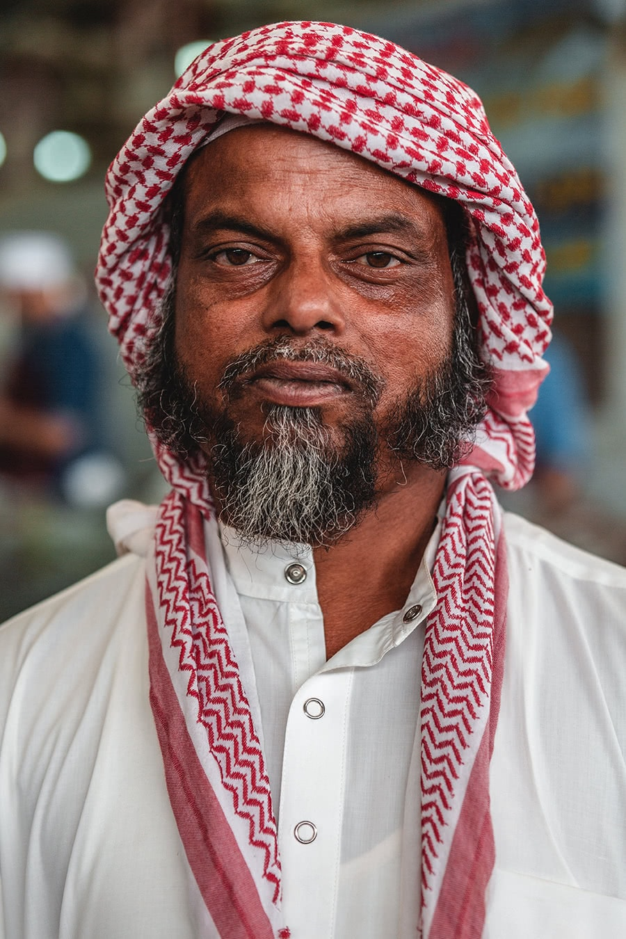 Bangladeshi worker in Dubai.