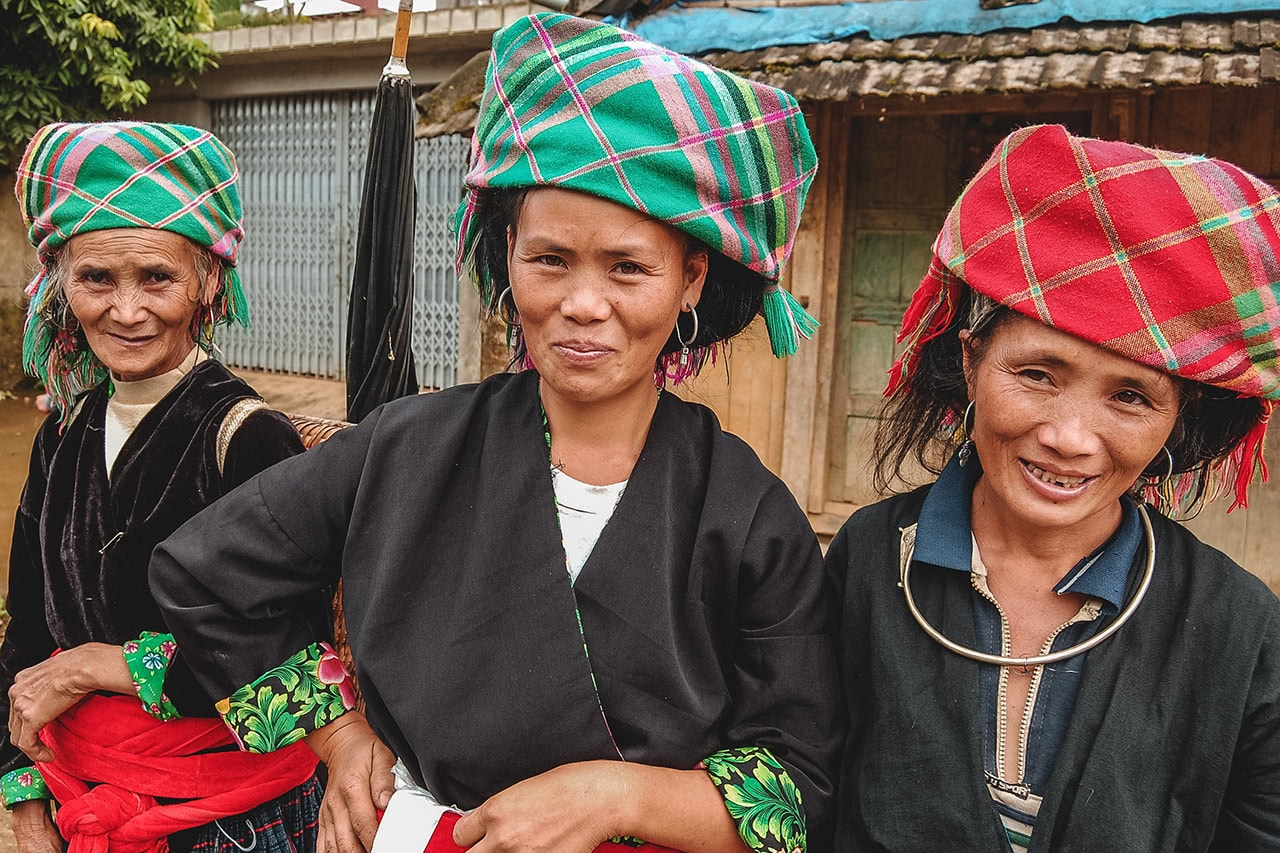 Flower Hmong women in Sapa